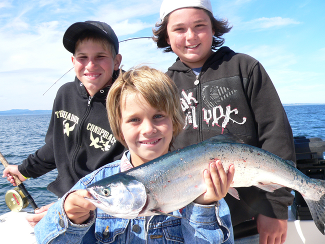 Fmaily fishing fun
