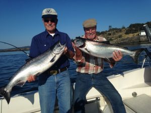 Salmon Fishing in Victoria