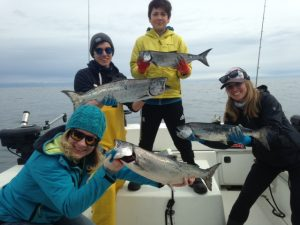 Salmon Fishing Victoria BC